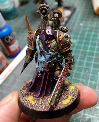 Deathguard.1, Ejército de Mortarion