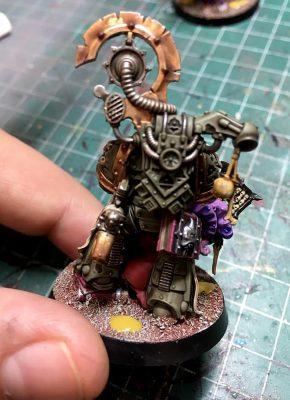 Deathguard.4, Ejército de Mortarion