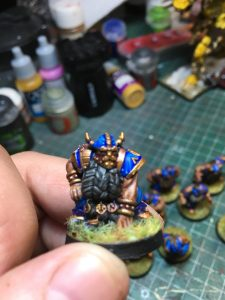 Equipo de Enanos de Blood Bowl, marca Starplayer(detalle 3)