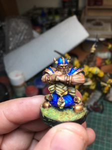 Equipo de Enanos de Blood Bowl, marca Starplayer(detalle 6)