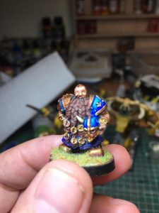 Equipo de Enanos de Blood Bowl, marca Starplayer(detalle 7)