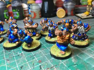 Equipo de Enanos de Blood Bowl, marca Starplayer(detalle 8)
