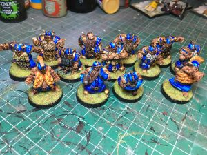 Equipo de Enanos de Blood Bowl, marca Starplayer(detalle 9)