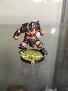 Equipo de Ogros de Blood Bowl, marca Hungry troll (detalle 3)