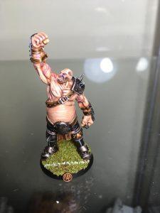 Equipo de Ogros de Blood Bowl, marca Hungry troll (detalle 5)