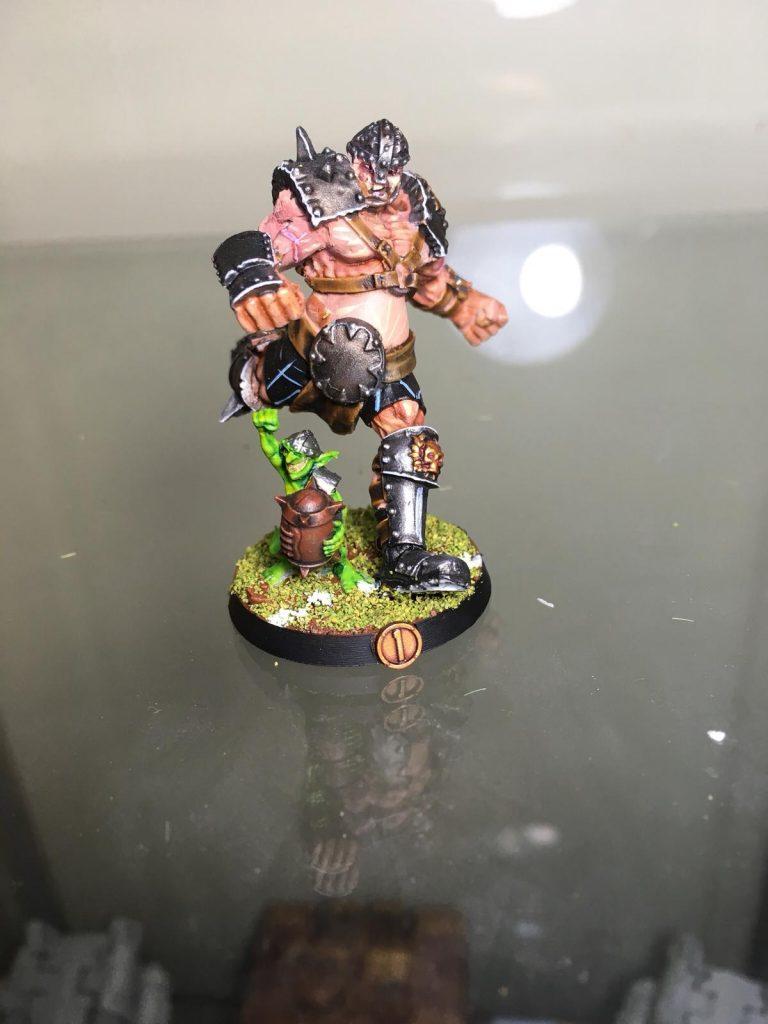 Equipo de Ogros de Blood Bowl, marca Hungry troll (detalle 7)