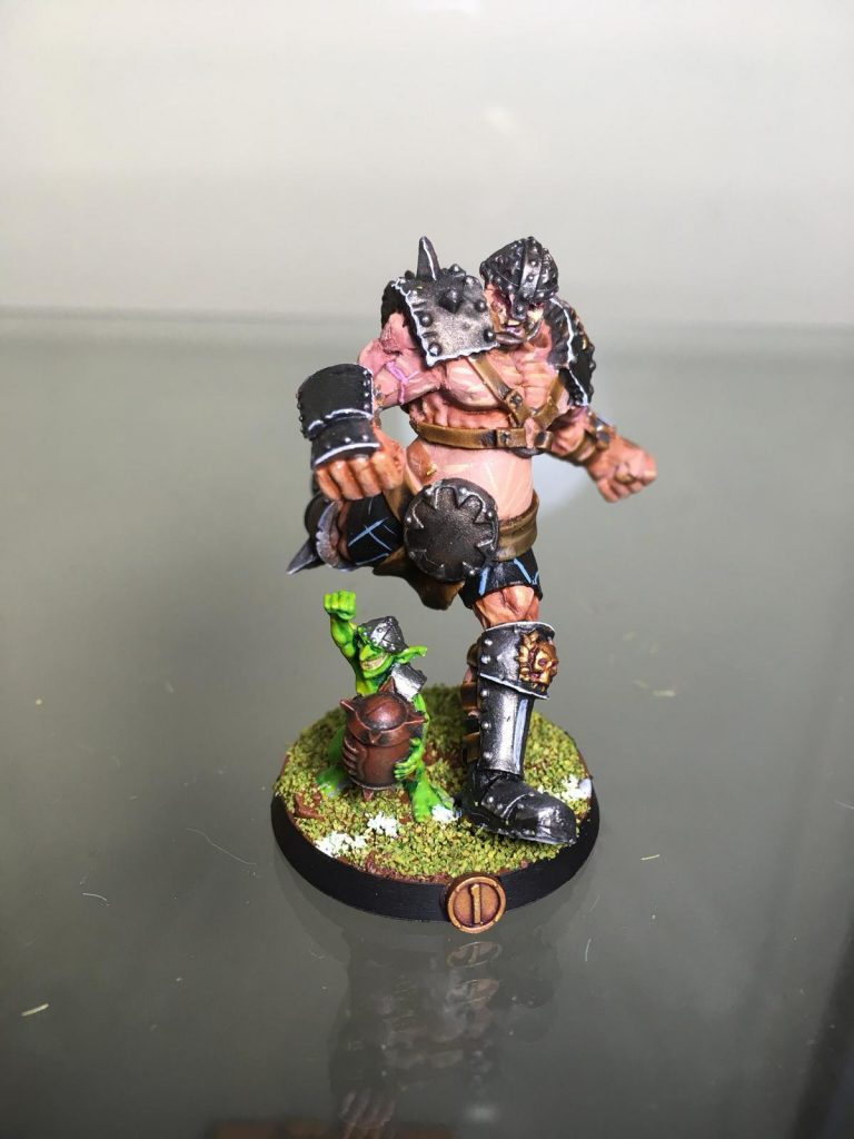 Equipo de Ogros de Blood Bowl, marca Hungry troll (detalle 8)