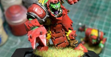 Equipo de Orcos Blood Bowl nuevo de Games Workshop