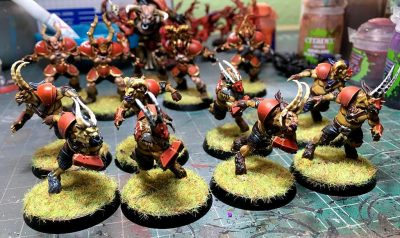 Equipo del caos Games Workshop