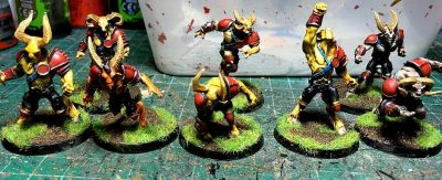 Hombres bestia, Equipo del caos Willy miniatures