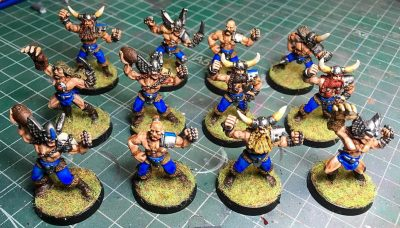 Equipo de Norse clásico, Blood Bowl, de Games Workshop