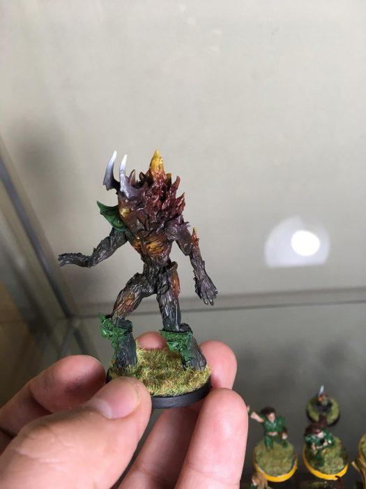 "Hombre árbol, Equipo completo ""obsidian dusk"" de greebo games"
