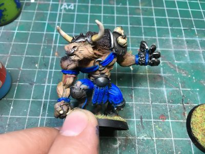 Minotauro, Pacto del Caos, Goblin Guild