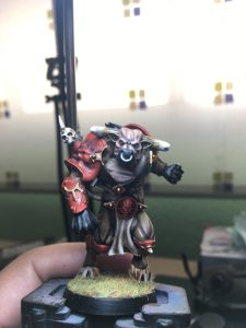 Minotauro de Blood Bowl marca ForgeWorld