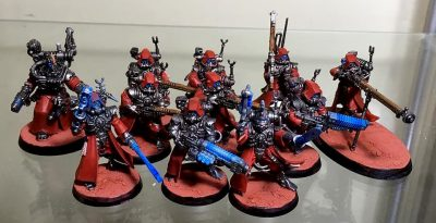Unidad de Mechanicum de Games Workshop