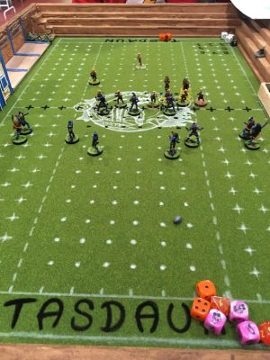 Botijo Bowl, Partido en mesa 1