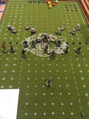 Botijo Bowl, partido en mesa 1.