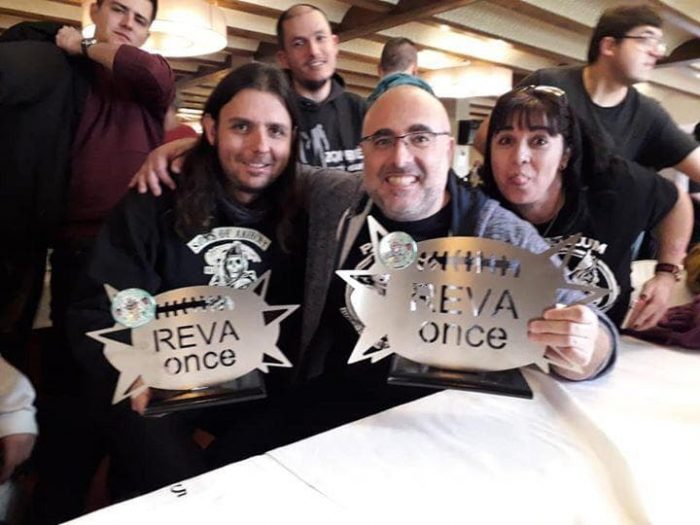 REVAonce 2019. Subcampeon Heavy
